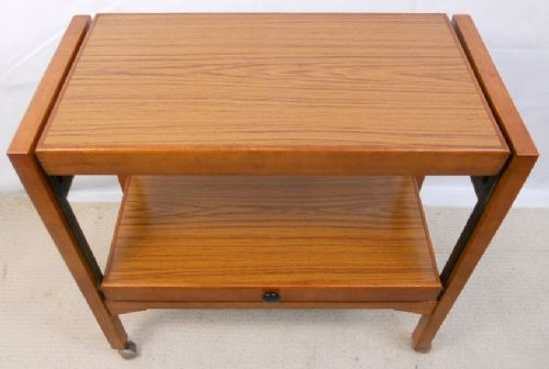 1960's Teak Tea Trolley Dinner Wagon
